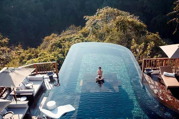 悬空泳池(一),瑞地格乐亚克力游泳池