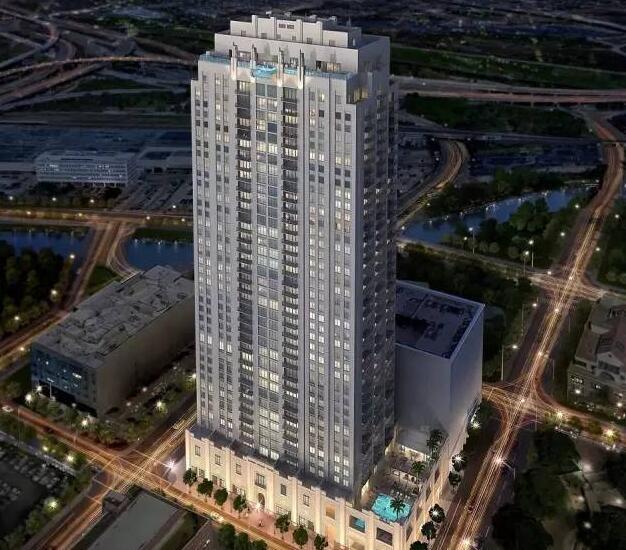 40层楼高透明游泳池,深圳市他拍档科技有限公司