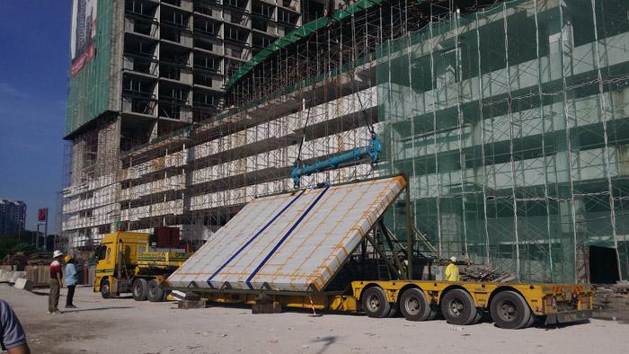 马来西亚吉隆坡凌云阁空中泳池480万施工中四