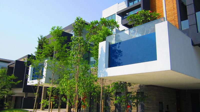 马来西亚威萨那25别墅空中泳池三,瑞地格乐亚克力游泳池