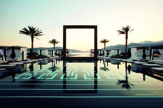 黑山共和国Regent Porto Montenegro无边泳池,深圳市他拍档科技有限公司
