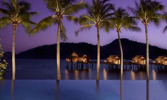 马来西亚PangkorLaut Resort无边泳池,深圳市他拍档科技有限公司
