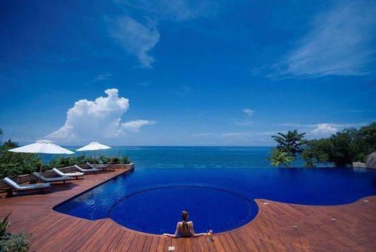 菲律宾薄荷岛Eskaya Beach Resort & Spa无边泳池,深圳市他拍档科技有限公司