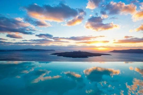 希腊Cosmopolitan Suites无边泳池,深圳市他拍档科技有限公司